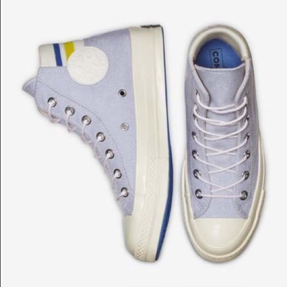 d542a42b5e Converse Shoes - Converse Chuck 70 Retro Stipe Hi Top
